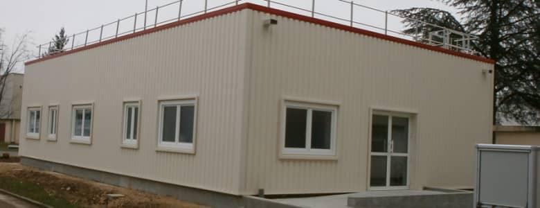 Batiment modulaire pole sante