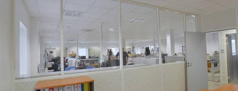 Batiment bureaux open space 1