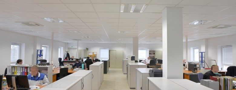 Batiment bureaux open space 2