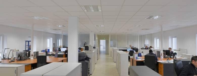 Batiment bureaux open space