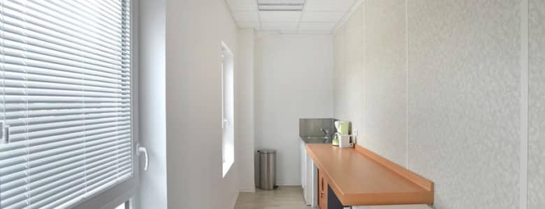 Batiment bureaux salle de pause