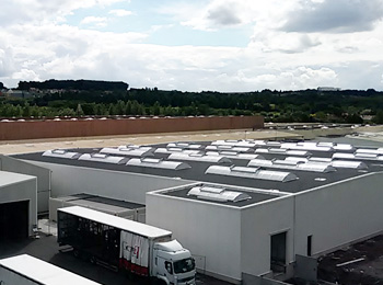 Batiments industriels location une