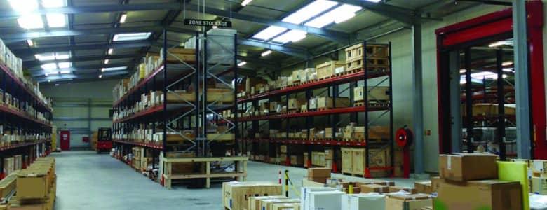 Location batiment industriel stockage