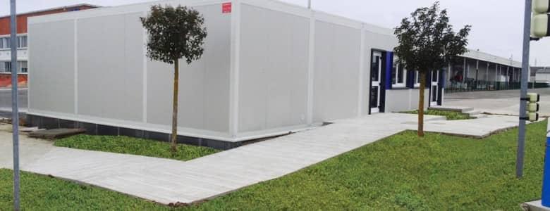 Bâtiment modulaire accueil