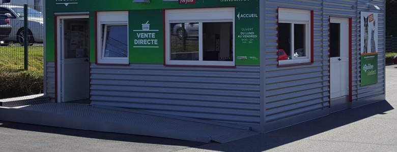 Magasin modulaire 1