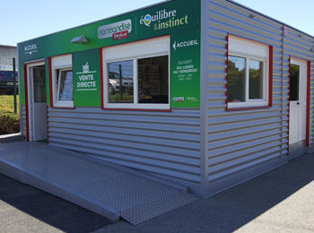 Magasin modulaire une