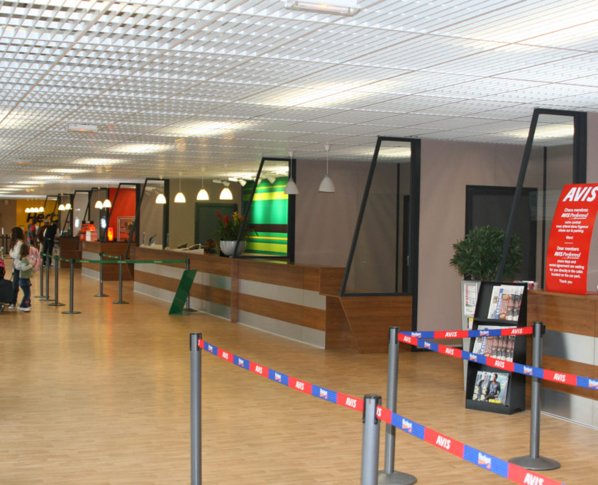 Construction salle d'embarquement, 17700m², achat