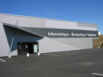 Espace commercial modulaire une