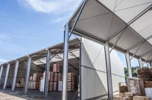 hangar tunnel metallique cheap hangar mtallique x sans pilier intrieur duoccasion cruseilles. Black Bedroom Furniture Sets. Home Design Ideas