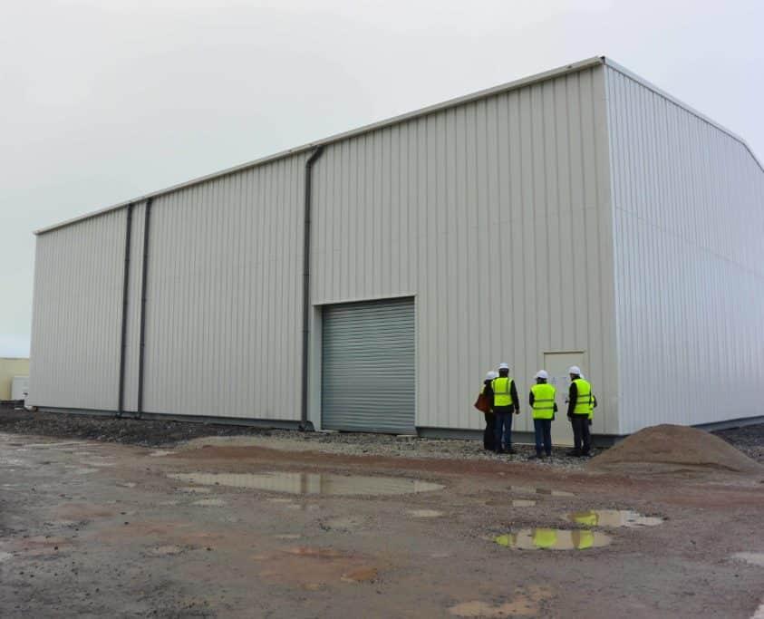 Batiments de stockage, 1500m², location