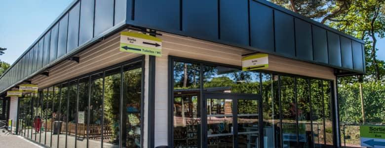 Batiment modulaire boutique zoo 4