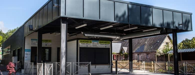 Batiment modulaire boutique zoo 6