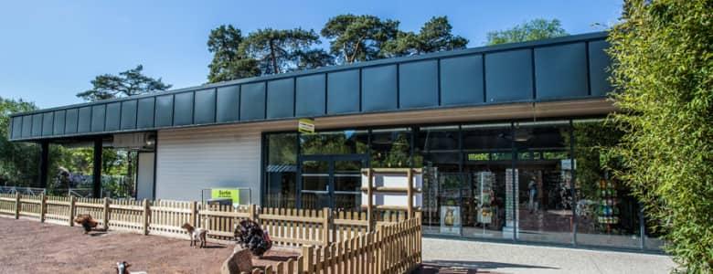 Batiment modulaire boutique zoo