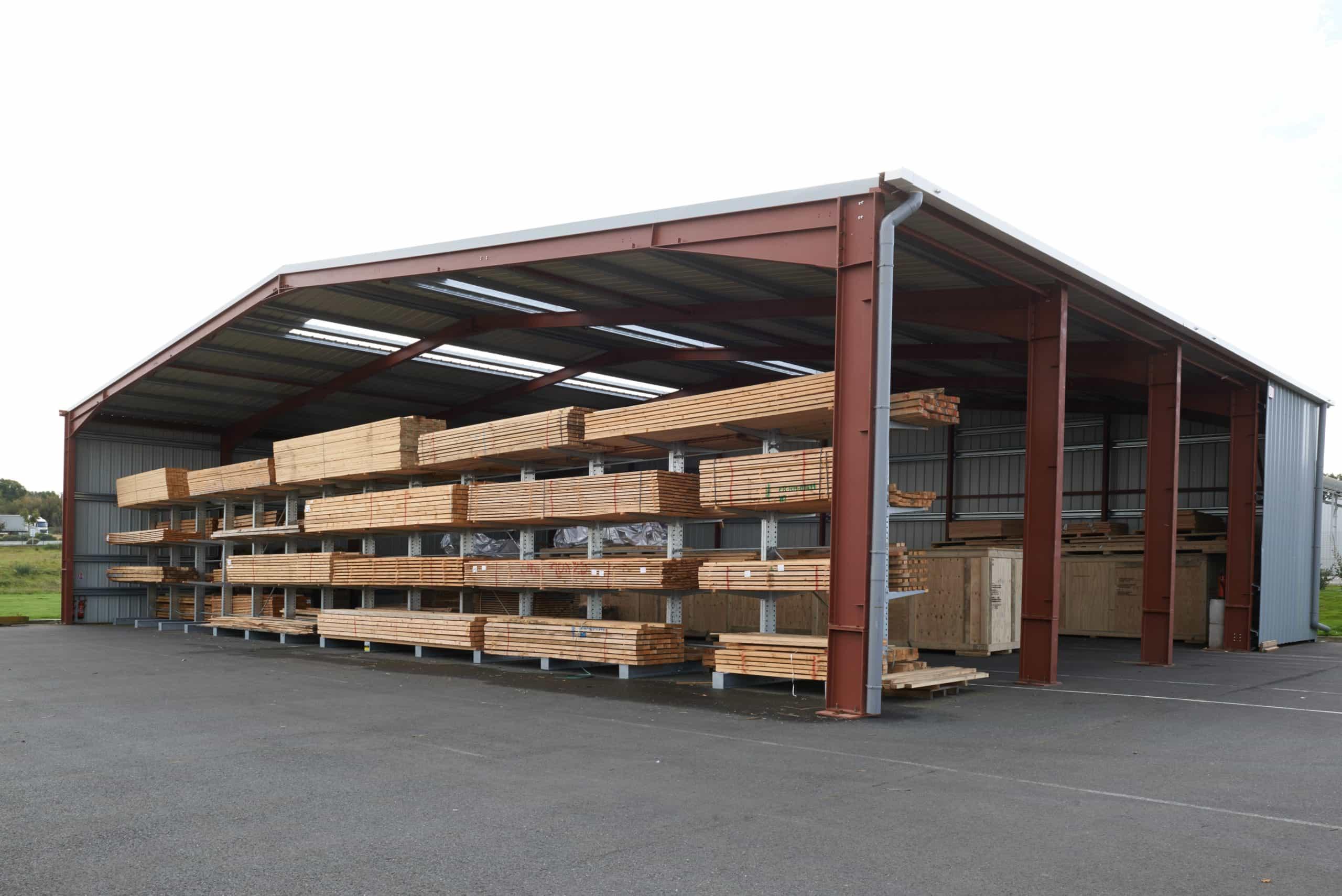 Hangar temporaire, 600m², location 48 mois
