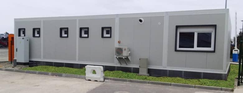 Bâtiment modulaire accueil 1