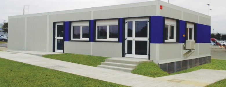 Bâtiment modulaire accueil 2