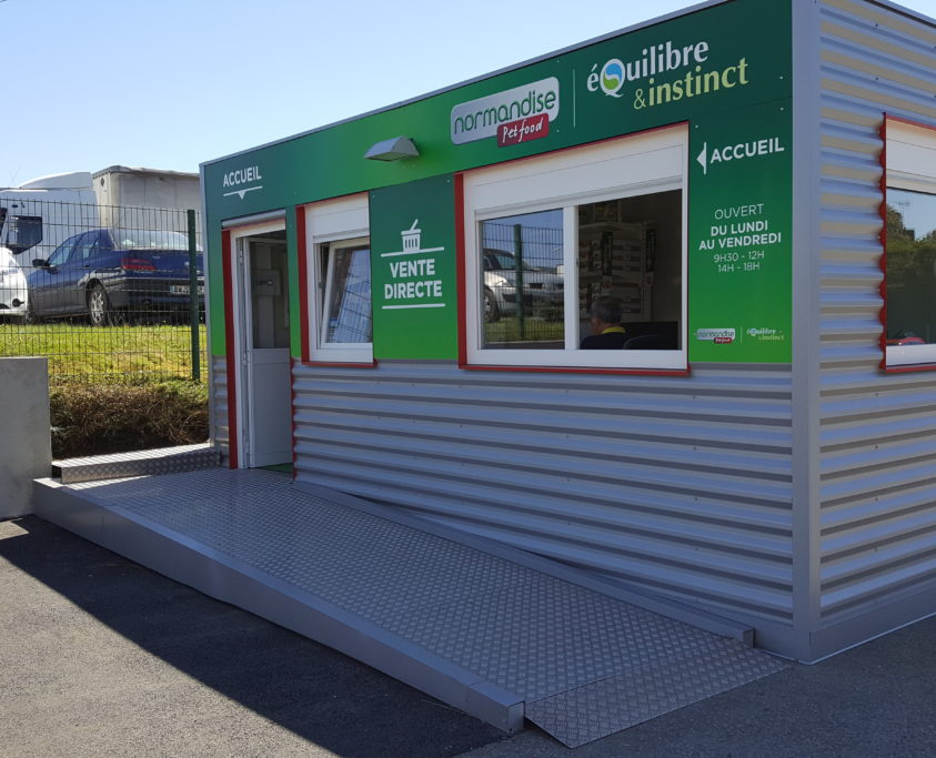 Magasin modulaire, 47m², achat