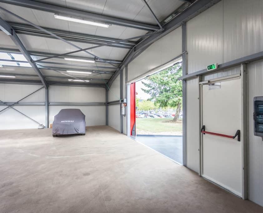 Entrepôt industriel, 225m², location 36 mois