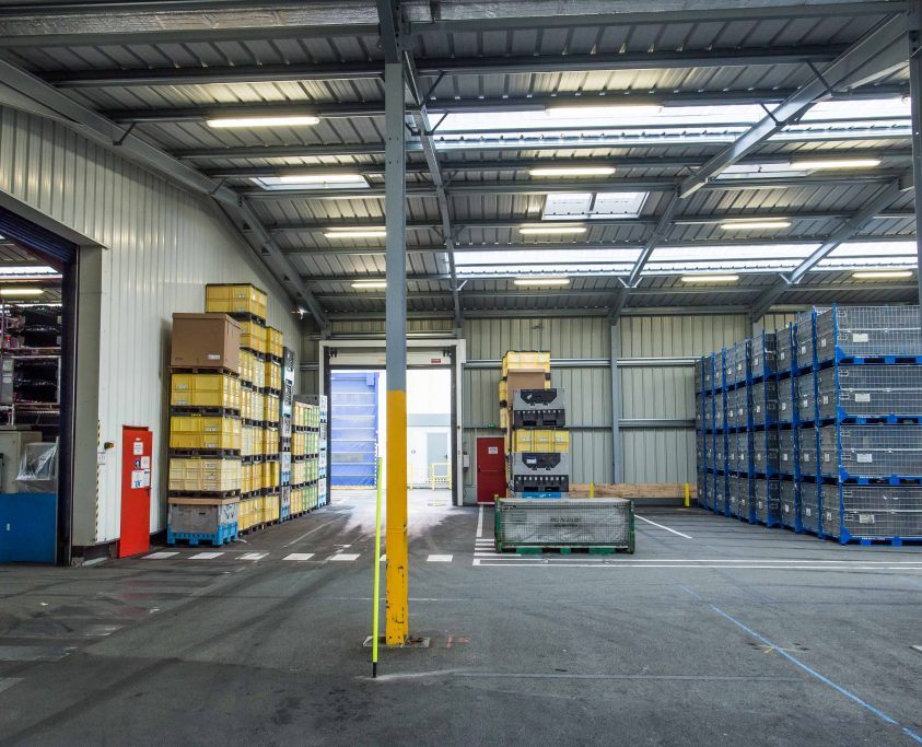 Extension entrepôts métalliques, 1400 m², location 36 mois