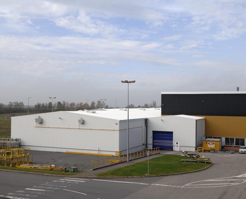 Extension bâtiments industriels