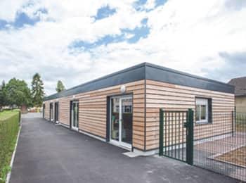 salles de classe modulaires