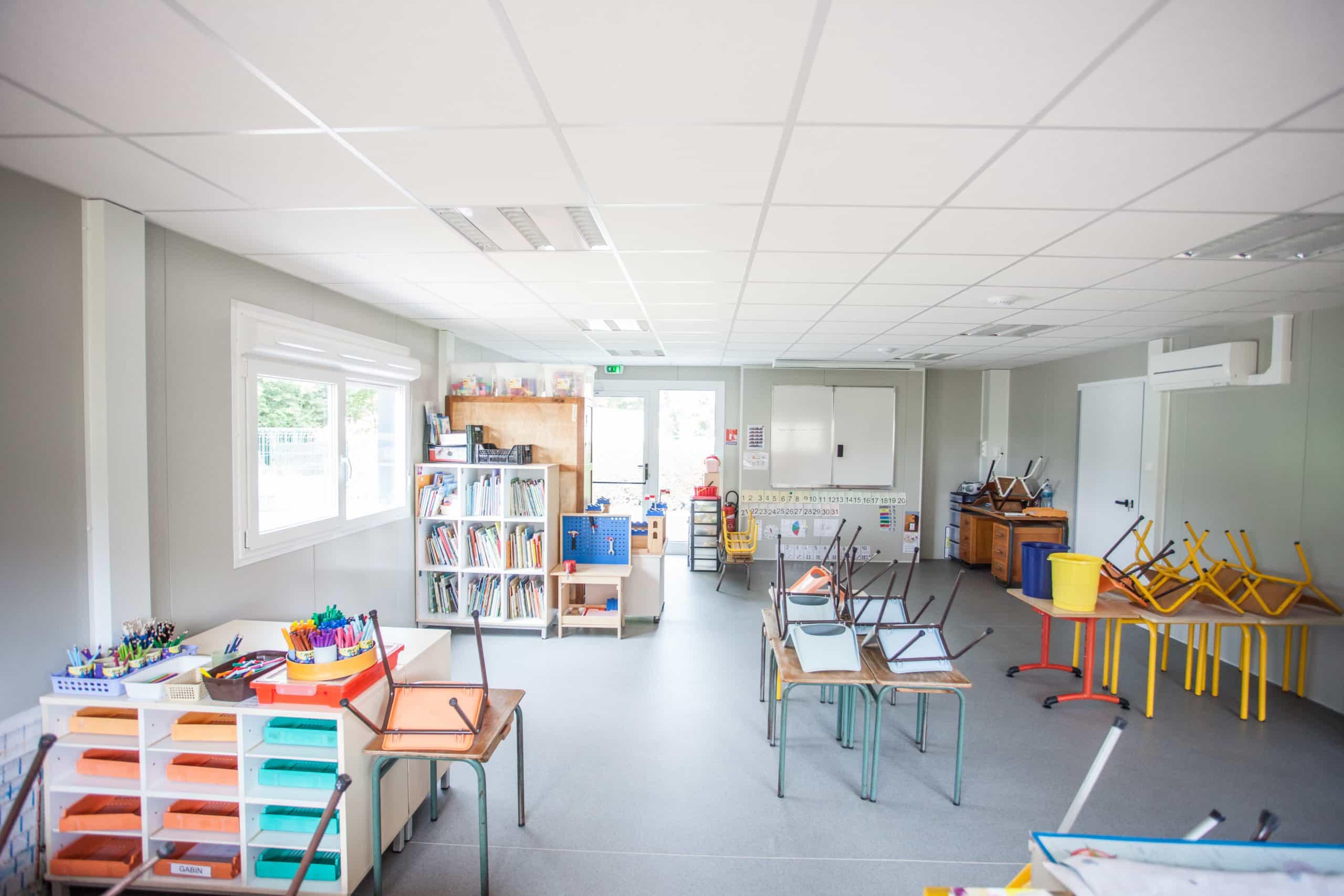Salle De Classe Prefabriquee