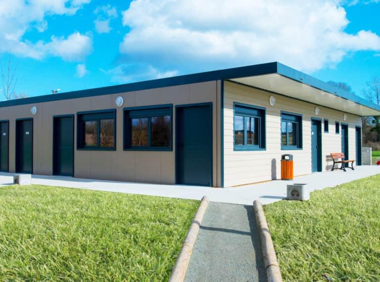 Vestiaires modulaires, 174 m², achat