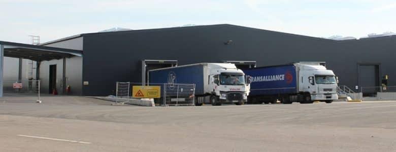 Location entrepôt logistique