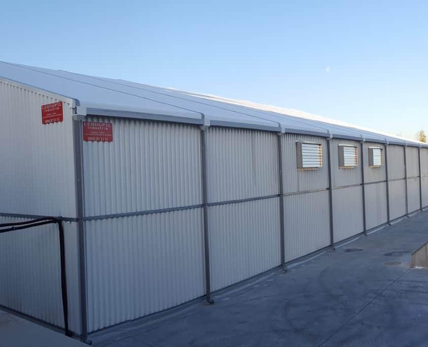 Stockage temporaire, 1200m², location 6 mois