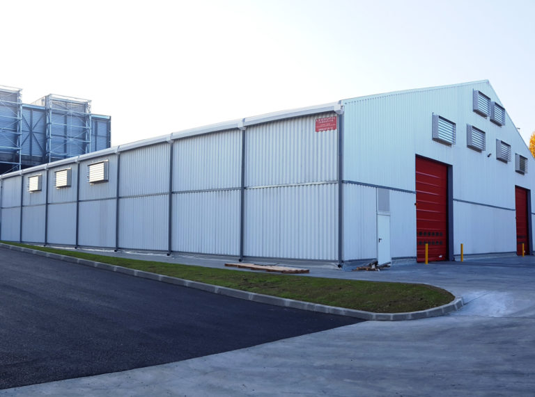 Stockage temporaire, 1200m², location 6 mois