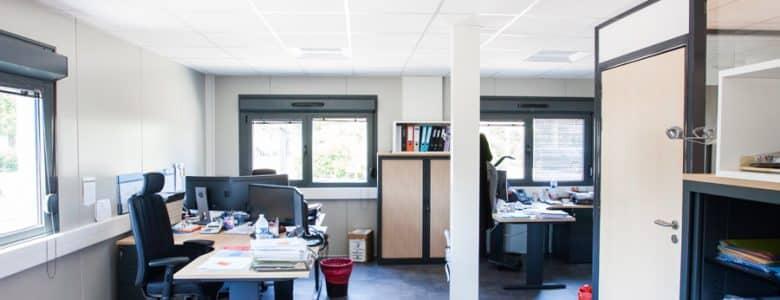 Bâtiment administratif modulaire 13