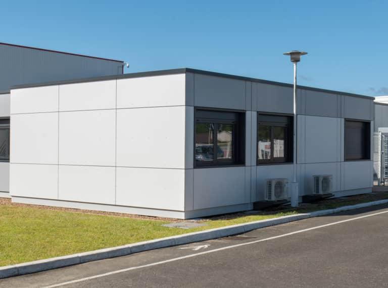 Bureaux administratifs modulaires, 133 m², location 36 mois