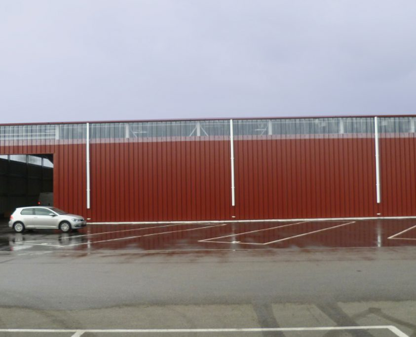 Entrepot métallique, 1200 m², achat