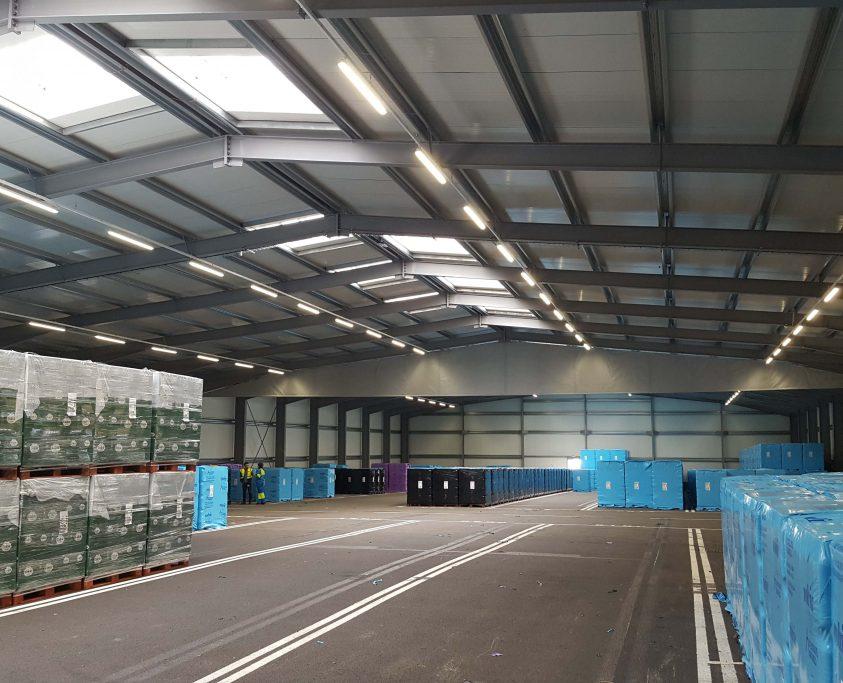 Location entrepôt métallique, 2400m², location 60 mois
