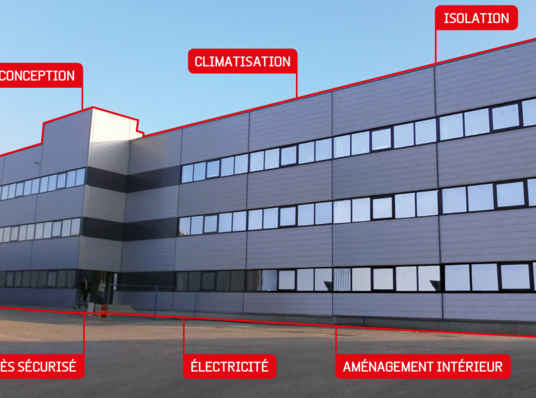 Bâtiment industriel et servicialisation