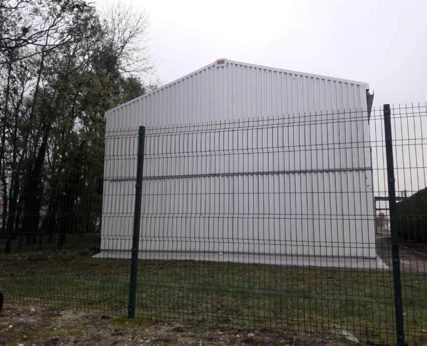 Bâtiment suite sinistre, 250m², location 18 mois