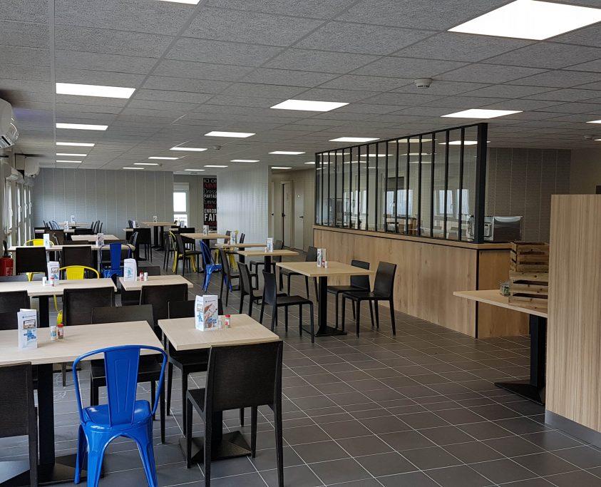Bâtiments modulaires restauration, 318m², location 84 mois