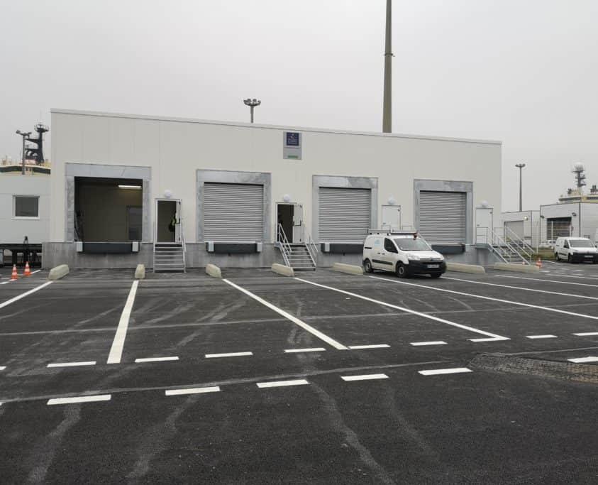 Brexit : bâtiments industriels pour le port de Calais