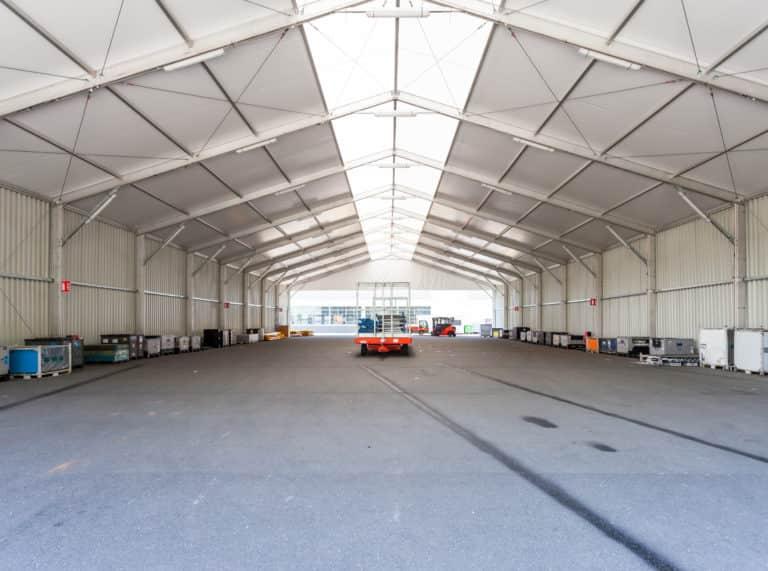 Durée de vie d'un hangar modulaire