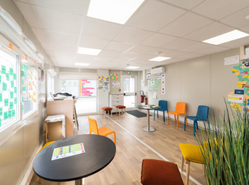 Espace modulaire coworking une