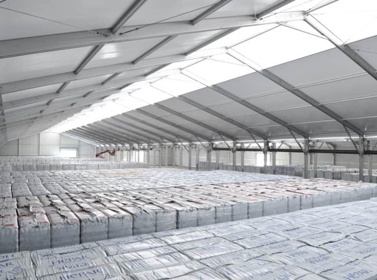 Bâtiment de stockage et RT2012