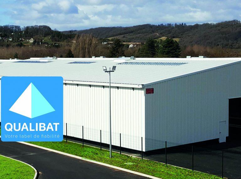Bâtiment industriel et certification Qualibat