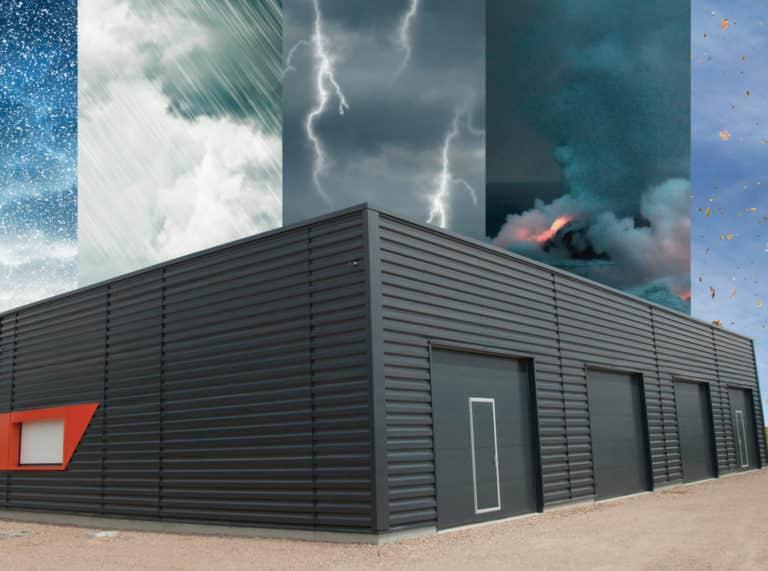 Tempête : à savoir pour vos bâtiments industriels