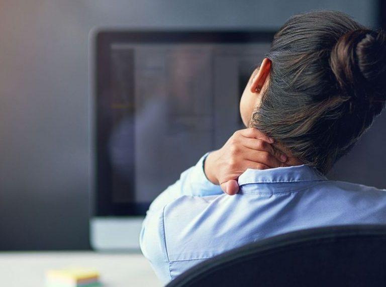 La bonne posture face à son ordinateur