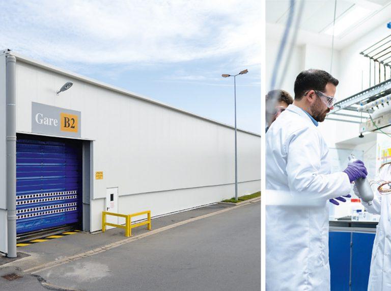 Construction batiment modulaire chimie pharmacie