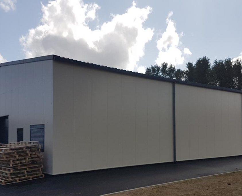 Construction bâtiment de stockage, 400m², achat