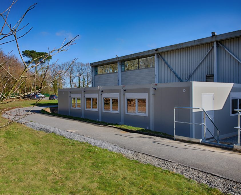 Location structure modulaire, 88m², location 11 mois