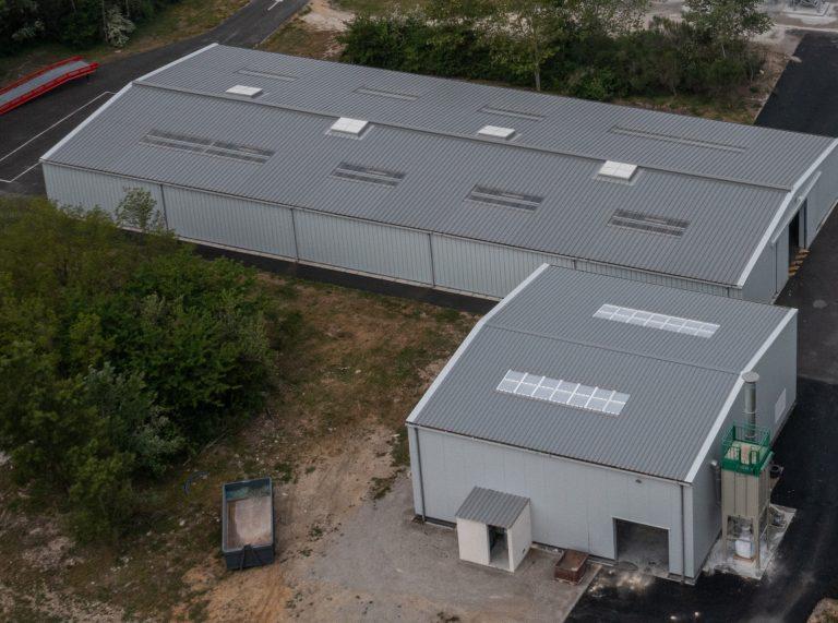 Constructeur entrepôt industriel, 240m², vente