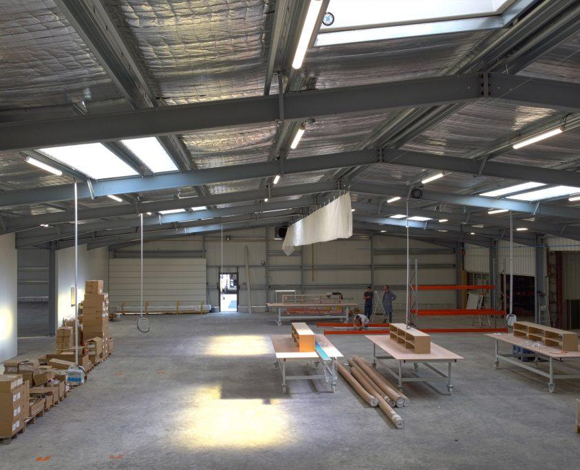 Location atelier industriel modulaire, 1800m², location 48 mois